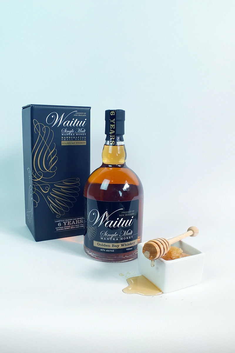 Waitui Manuka Honey Whiskey 700ml with box