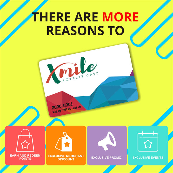 XMILE Loyalty Card