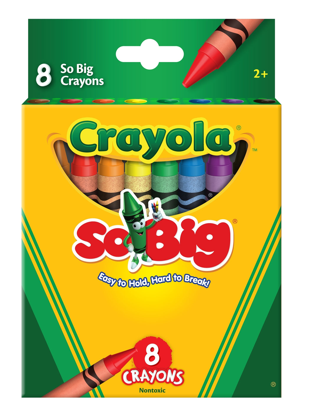 Crayola <br> Crayons, SO BIG