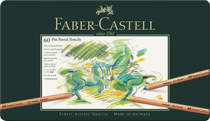 Faber-Castell <br> Pitt Pastel Pencil, Tin Case