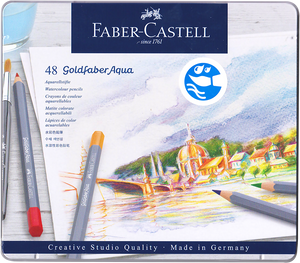 Faber-Castell <br> Goldfaber Water Colour Pencil
