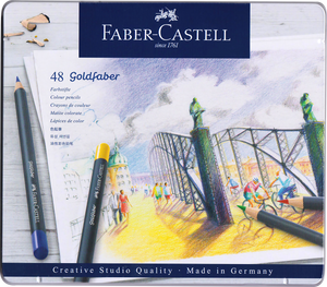 Faber-Castell <br> Goldfaber Colour Pencil