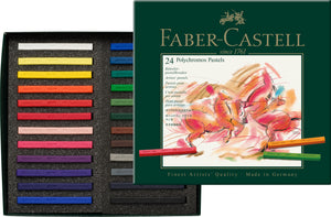 Faber-Castell <br> Polychromos Artists' Pastel Colour, Cardboard Box