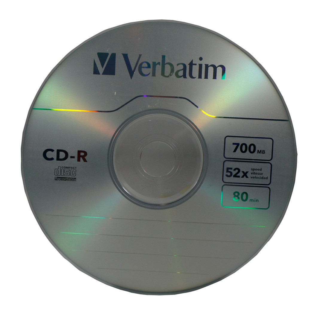 Verbatim <br> CD-RW Spindle, Single