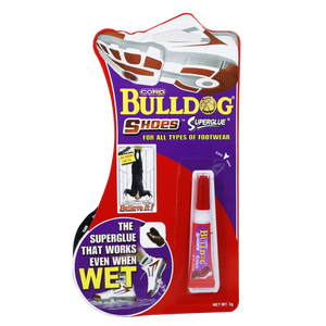 Bulldog  <br> Shoes Super Glue , 3 Grams