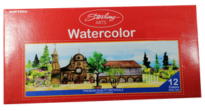 Sterling <br> Water Color  4-6cc, Set of 12