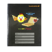 Load image into Gallery viewer, Advance <br> Composition Notebook, TWEET PICKS <br> 6X8.5 Inches, With Plastic Cover 80 Leaves