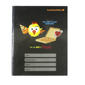 Advance <br> Composition Notebook, TWEET PICKS <br> 6X8.5 Inches, With Plastic Cover 80 Leaves