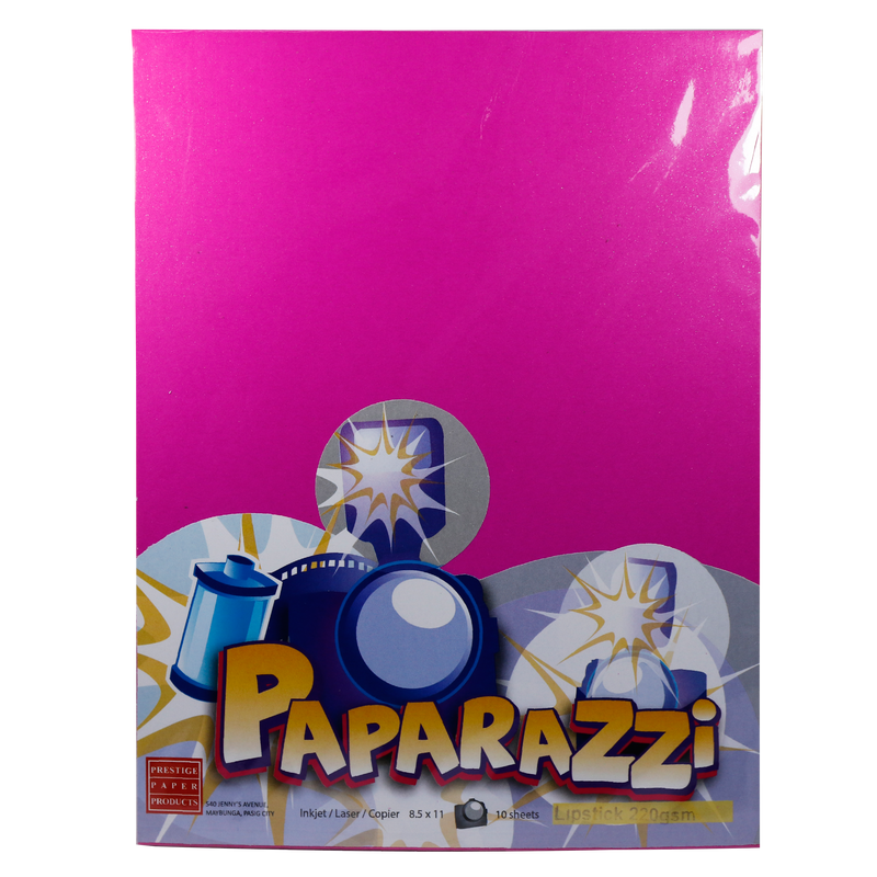Paparazzi <br> Specialty Paper 220GSM <br> Pack of 10, 8.5x11 Inches