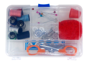 Sewing Kit in reusable container