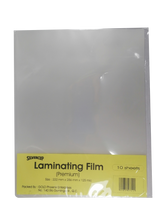 Load image into Gallery viewer, Laminating Film 222mmx286mm, <br> Pack of 10