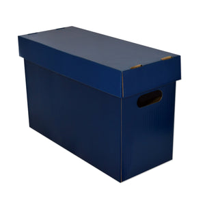Fairfax <br> Storage Box with Prints <br> Coated Board (Glossy) <br> 15 x 10 x 9 Inches