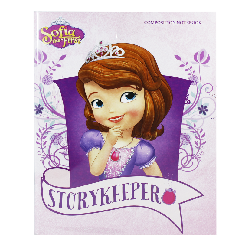 Orions <br> Composition Notebook, SOFIA the FIRST <br> 5.8X7.8 inches 80 leaves
