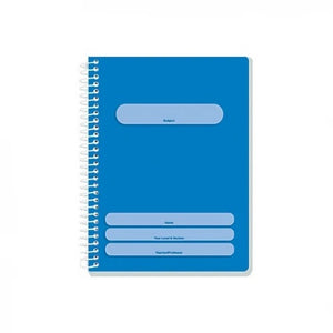 ORIONS <br> Spiral Notebook, COLOR CODING <br> 5.8X7.8 inches 80 leaves