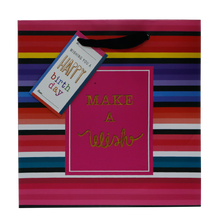 Load image into Gallery viewer, Sterling <br> Gift Bag, Birthday Wish <br> 23.97 x 10.16 x 23.97 cm, Pink