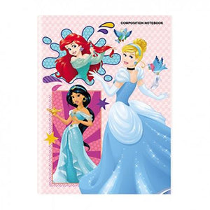 Orions <br> Composition Notebook, DISNEY PRINCESS <br> 5.8X7.8 inches 80 leaves