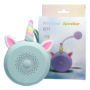 Round-shaped Bluetooth Speaker, with Ears