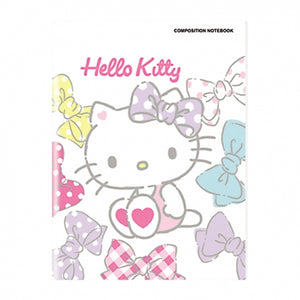Orions <br> Composition Notebook, HELLO KITTY <br> 5.8X7.8 inches 80 leaves