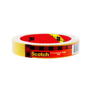 TAPE TRNSPRNT SCOTCH (18MM X 50M/24MM X 50M)