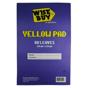 Wise Buy Yellow Pad