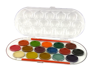 Wise Buy <br> Semi-moist Water Color, 16 Colors
