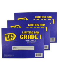 Load image into Gallery viewer, Wise Buy <br> Grade Pad Paper <br> Pack of 3