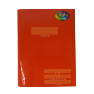 Advance <br> Composition Notebook, COLOR CODING <br> 6X8.5 Inches, With Plastic Cover <br> 80 Leaves