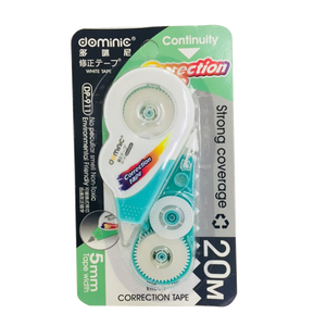 Dominic <br> Correction Tape with Refill, 20M