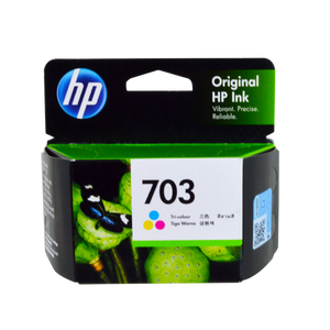 HP <br> 703 Ink Cartridge, Tricolor (CYAN, YELLOW, MAGENTA )