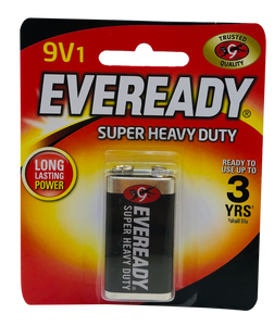 Eveready Battery <br> Heavy Duty, 9 Volts