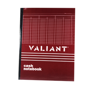 Valiant <br> Cash Notebook