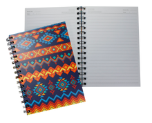 Load image into Gallery viewer, Fancy Spiral Journal Notebook with hard cover