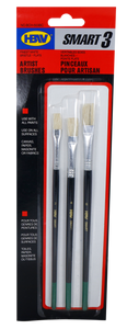 Smart Artist <br>  Brush Set of 3 ( Bristle no. 2,4,6mm)