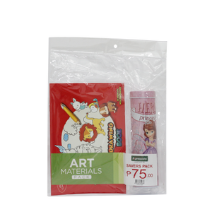 Art Materials with Pencil Case Pack (GIRLS)