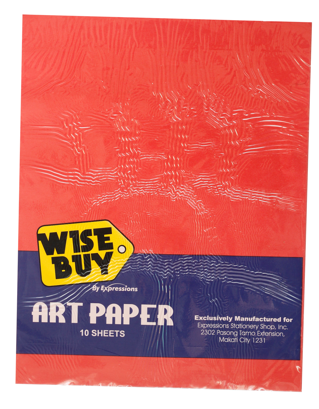 Wise Buy <br> Art Paper 50GSM Pack of 10, <br> Assorted Colors