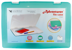 Adventurer <br> File Case, Foolscap Size 203 x 330mm