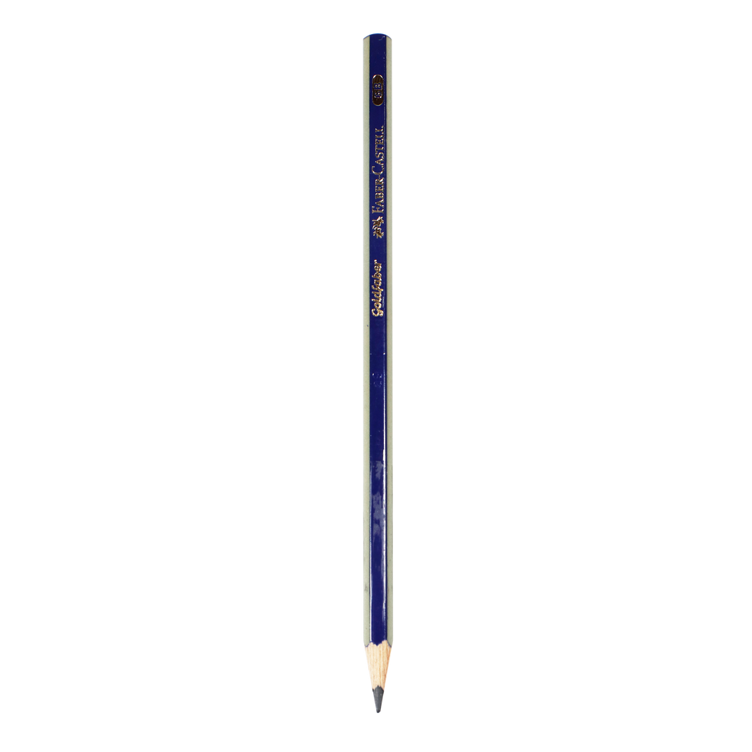 Faber-Castell <br> Goldfaber Drawing Pencil (6B )