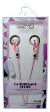 Load image into Gallery viewer, Gizmo <br> Earphones with Microphone <br>  Camouflage Design