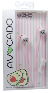 Gizmo <br> Earphones with Microphone <br> Avocado Design