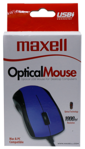Maxell <br> Optical Mouse