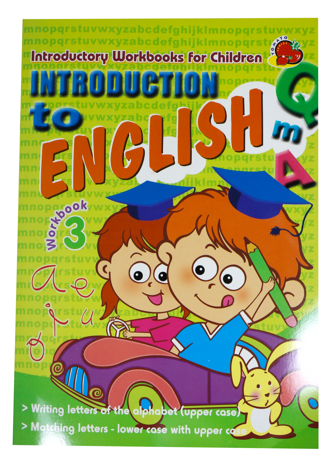 Children's <br> Introduction to English #3 <br> (Upper Case)