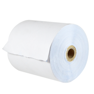 POS Carbonless Paper Roll, <br> 2- Ply, 90ft, White