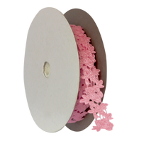 Load image into Gallery viewer, Craft Ribbon Laser-cut, <br> Rose 20 Yards x 1 Inch