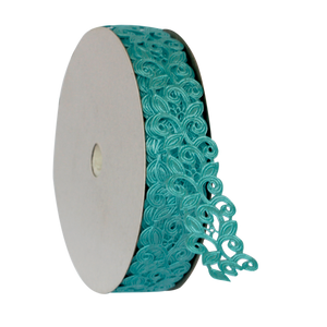 Craft Ribbon Laser-cut, <br> Curvy Vines 20 Yards x 1 Inch