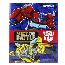 Load image into Gallery viewer, Orions <br> Writing Notebook, TRANSFORMERS <br> 5.8X7.8 inches 80 leaves