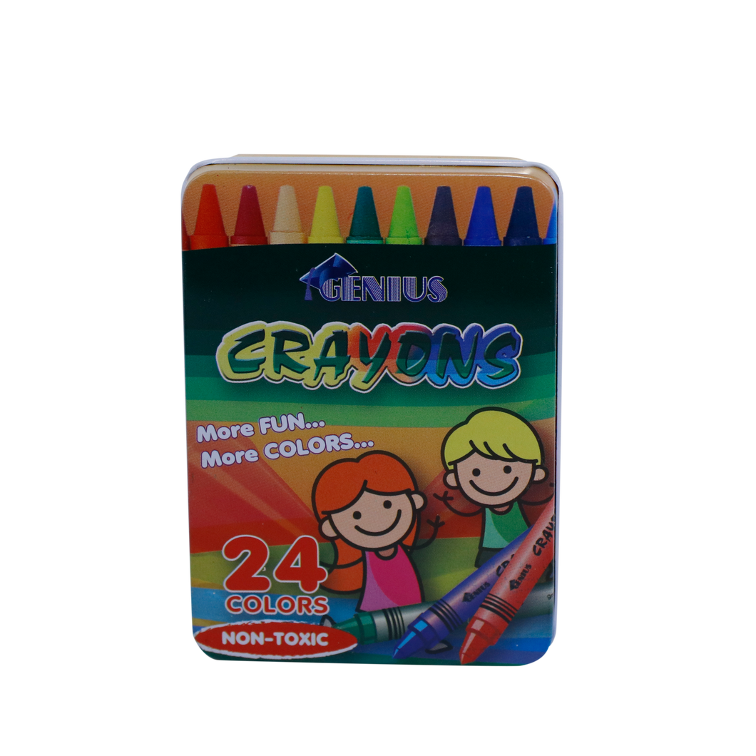 Crayon Metal Case for 24s