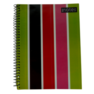Advance <br> Spiral Notebook, FANCY NOTES <br> 6X8.5 Inches 80 Leaves