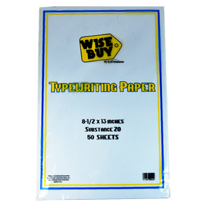 Wise Buy <br> Copy Paper 70GSM, Pack of 50