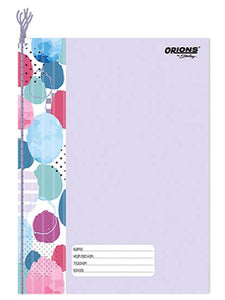 Orions <br> Yarn-bound Notebook, COLOR CODING  <br> 8X10.5 inches 80 leaves