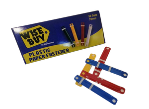 Wise Buy <br> Plastic Fastener, Box of 50